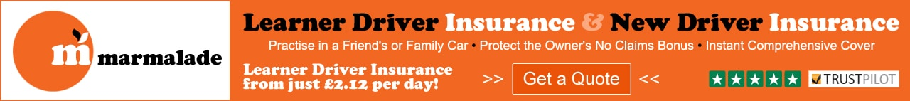 Learner Driver and New Driver Insurance in the UK from Marmalade