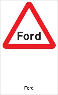 UK Road Signs Ford