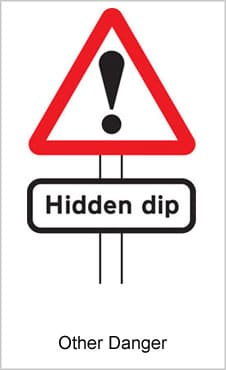 UK Road Signs Other Danger