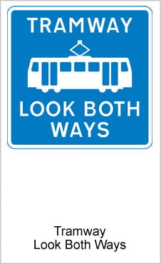 UK Road Signs Tramway